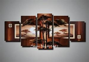 natural natural scenery 100% hand painted oil wall art 5