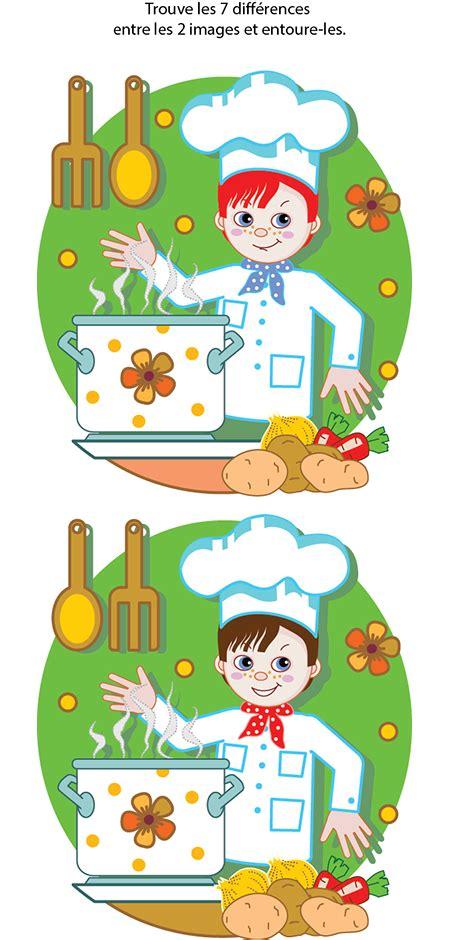 jeux de cuisine pour adulte jeu des 7 erreurs à imprimer tipirate