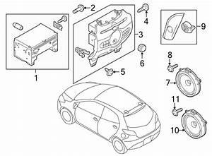 Mazda 2 Speaker  2011 6 Speaker  W  6