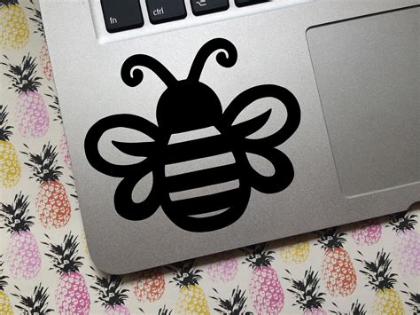 bumble bee vinyl decal custom choose size and color car etsy