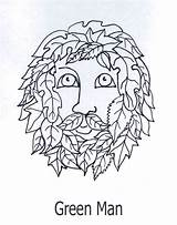 Coloring Printable Litha Count Wiccan Pagan sketch template