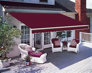 Patio Awning Manual Garden Canopy Sunshade Retractable
