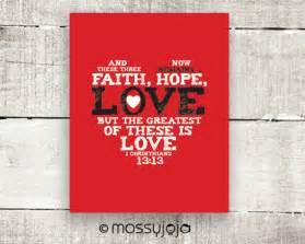Faith Hope and Love Bible Verse