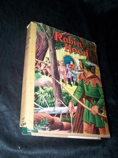 vintage robin hood whitman hcdj howard pyle hess book