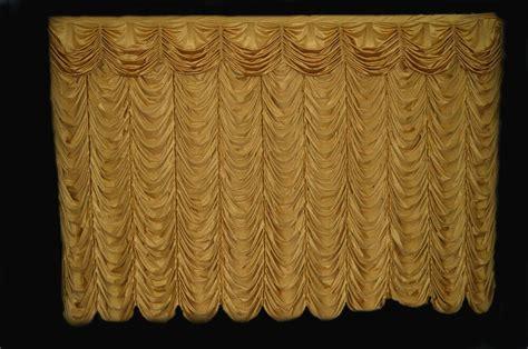 austrian drape saaria austrian puff event stage curtains club