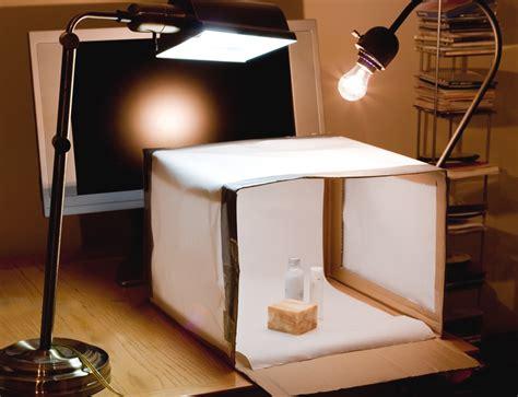 homemade photo box