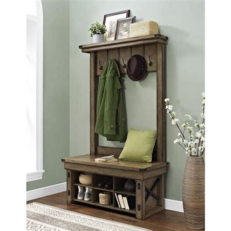Foyer Coat Rack by Catchy Entryway Storage Bench With Coat Rack Foyer In