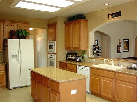 white appliances with oak cabinets best color for kitchen cabinets with white appliances