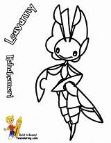 Pokemon Coloring Pages Printable Leavanny Burglar Cat Colouring Yescoloring Template Venipede Scrafty sketch template