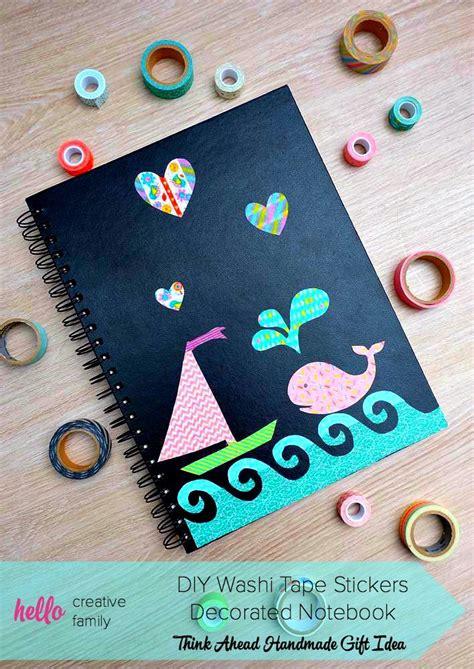 ways  decorate  notebook
