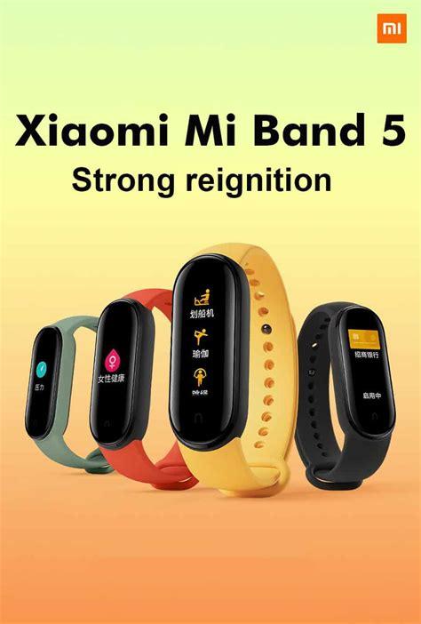 Xiaomi Mi Band 5 1.1 Inch AMOLED Wristband Price in