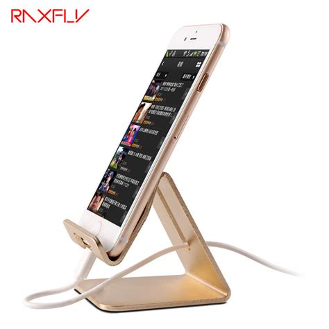 iphone 6 desk stand aliexpress com buy raxfly universal aluminum metal phone