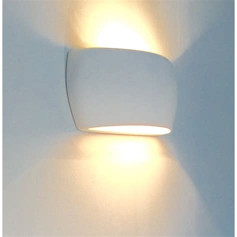 alfie 0318mar marton 1 light gypsum wall light