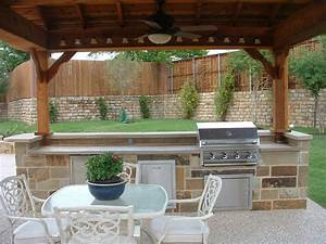 Triyae lighting ideas for outdoor kitchens various