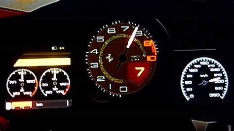ferrari  italia top speed run gt youtube