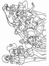 Sailor Moon Coloring Pages Sailormoon Anime Manga Colouring Sheets Series Books Jupiter Scouts Dibujos Force Kostenlos Ausmalbilder Sailors Popular Onlycoloringpages sketch template