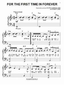 For The First Time In Forever sheet music by Kristen Bell ...