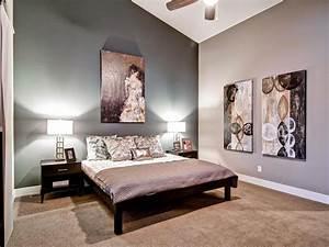gray master bedrooms ideas hgtv intended for Bedroom ...
