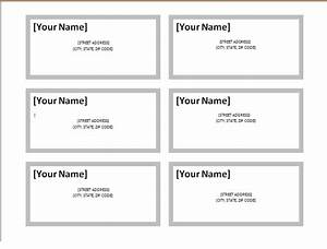 Address label template excel word templates for Excel template for labels