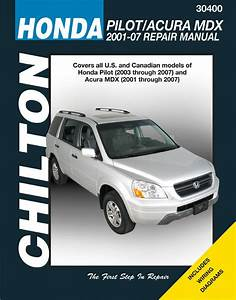 Chilton 30400 Service  Shop  Repair Manual Honda Pilot 2003