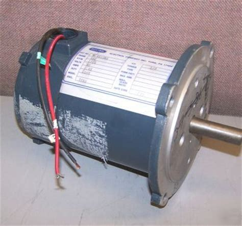 8hp Electric Motor by Electrol 1 8 Hp Dc Electric Motor M 4610nv 56c Frame