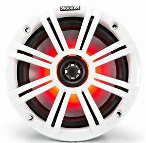 Kicker 45km84l Marine Audio Boat 8 U0026quot  Coaxial Speakers 4 Ohm