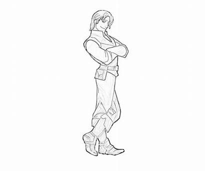 Flynn Rider Coloring Wanted Tangled Template
