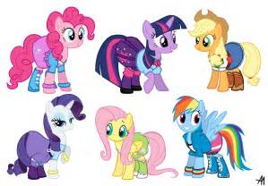My Little Pony as Equestria Girls