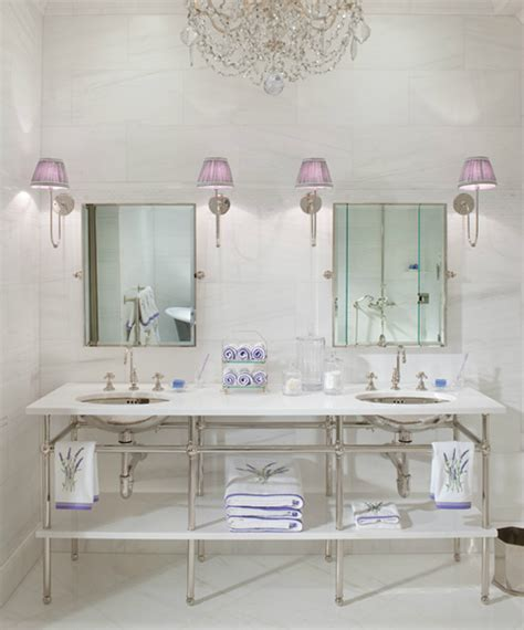 lavender and white bathroom midnight in paris lavender white belclaire house