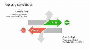 Pros  U0026 Cons Slide Diagrams For Powerpoint