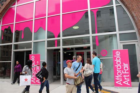 survey   weekends affordable art fair ny arts