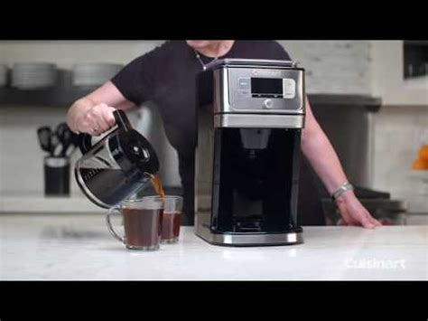 You can also take a look at other reviews that will also give you similar information about this. Cuisinart Self Cleaning Burr Grind & Brew Coffeemaker (DGB-800C) - Automatic Coffee ...
