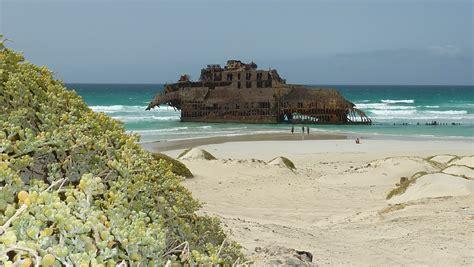 epave de boavista plages mer bateaux transport