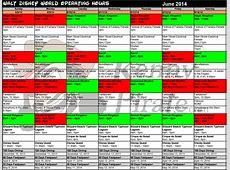 Universal Studios Crowd Calendar 2016 Calendar Template 2018