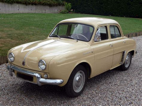 renault dauphine 1963 renault dauphine information and photos momentcar