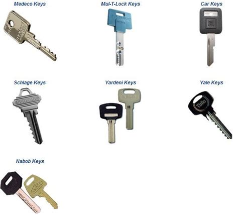 Chicago Locksmiths Cuts And Duplicates Various Key Types