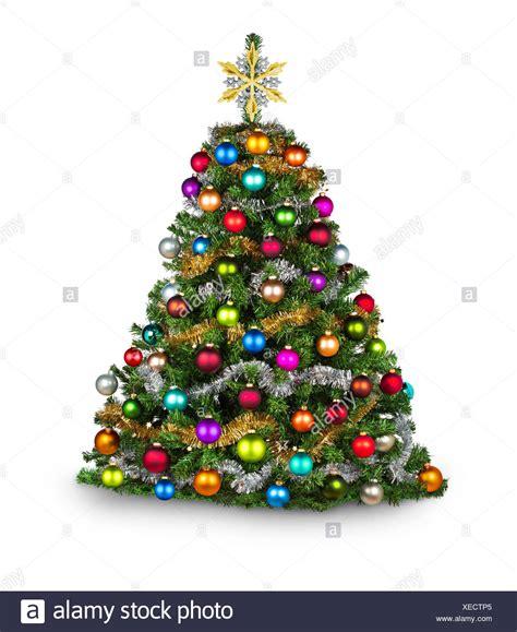 Weihnachtsbaum Bunt Geschmückt by Bunt Dekorierter Weihnachtsbaum Stockfoto Bild 284253933