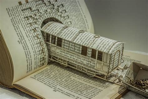clever  cool  book art examples hative