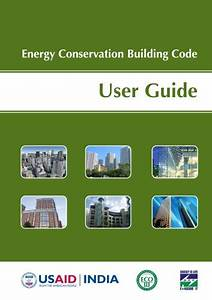 Energy Conservation Building Code User Guide For India