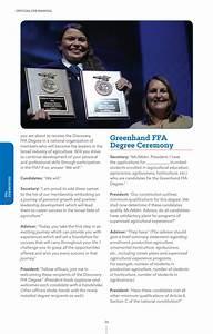 2016 Official Ffa Manual By National Ffa Organization