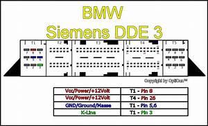 Bmw E46 2 0d Vp - Brak Zasilania Ecu - Schemat
