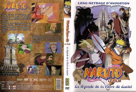 Jaquette Dvd De Naruto Le Film  La Légende De La Pierre De Guelel  Cinéma Passion