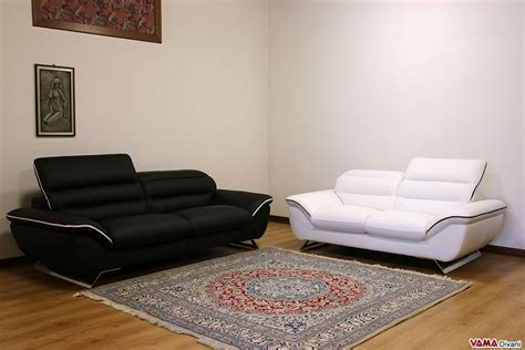 Contemporary White Leather Sofas by Contemporary White Leather Sofa With Steel