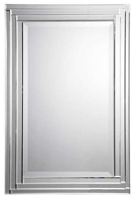 Uttermost Bathroom Mirrors by Uttermost Alanna Frameless Vanity Mirror 08027 B