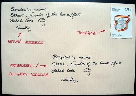 write address  envelope format  usa
