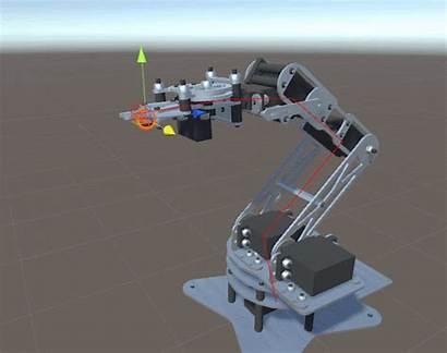 Robot Kinematics Inverse Procedural Arm Animation Robotic