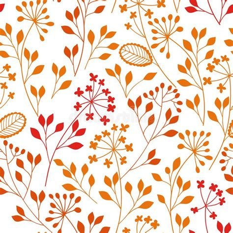 Vector Illustration Of A Colored Floral Element Stock ...