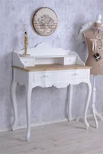 Schreibtisch Vintage Weiß : vintage sekret r weiss schreibtisch shabby chic ~ Lateststills.com Haus und Dekorationen