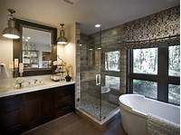 master bathroom pictures patterned roman shades the damask roman shades easily draw up to allow for unobstructed private ...