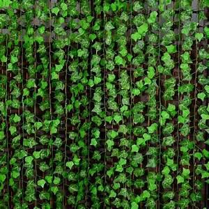 2018 250cm Plastic Climbing Vines Simulation Green Leaf